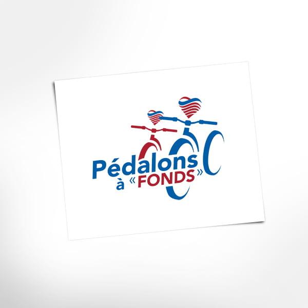 Logo Pédalons à «Fonds»