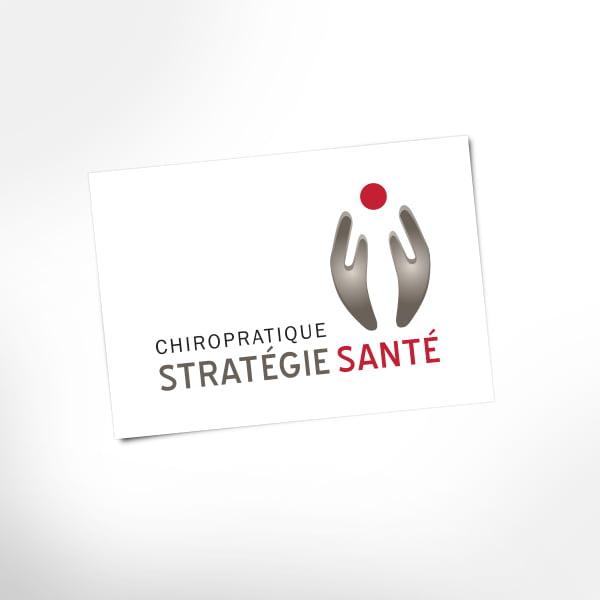 Logo Chiropratique Stratégie Santé